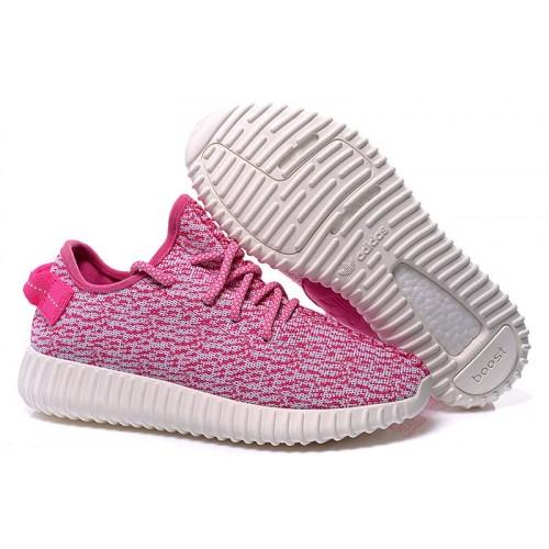 Adidas Yeezy Boost 350 Low Pink женские кроссовки