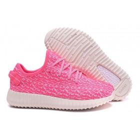 Adidas Yeezy Boost 350 Low Pink 2 женские кроссовки