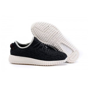 Adidas Yeezy Boost 350 Low Black White женские кроссовки
