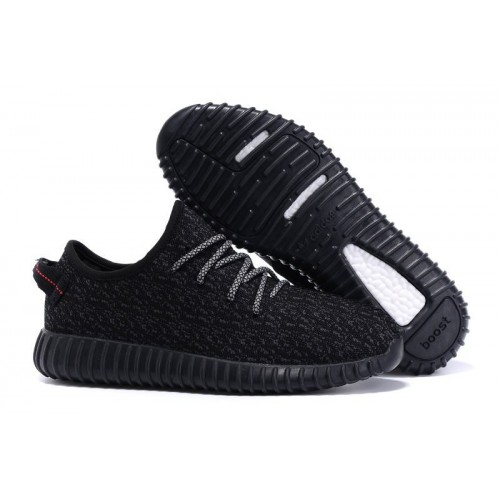 Adidas Yeezy Boost 350 Black Panter женские кроссовки