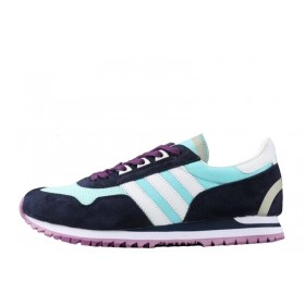 Adidas Originals ZX400 Blue Black Purple женские кроссовки