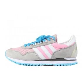 Adidas Originals ZX400 Grey Pink женские кроссовки