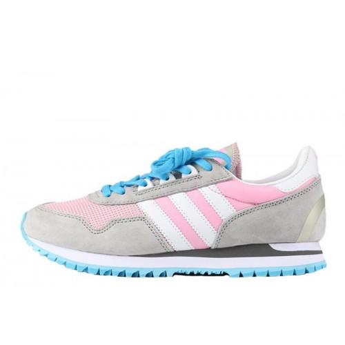 Кроссовки Adidas Originals ZX400 Grey Pink женские