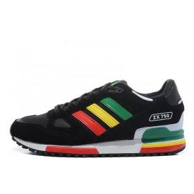 Adidas ZX 750 Black женские кроссовки