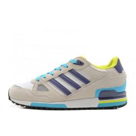 Adidas ZX 750 Grey Blue женские кроссовки