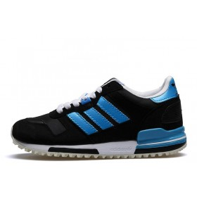Adidas ZX 700 UK Originals Black Electric Blue женские кроссовки