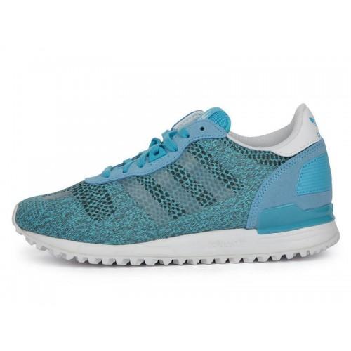 Adidas ZX700 EM Blue женские кроссовки