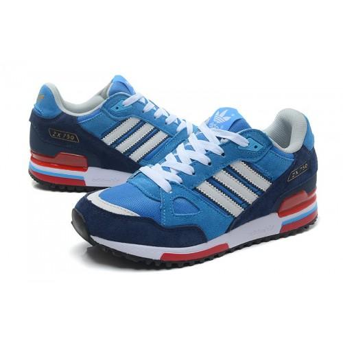 Кроссовки Adidas ZX 750 Blue женские