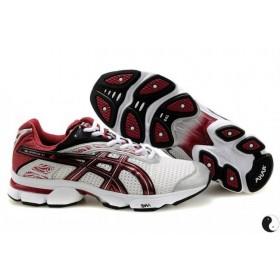 Asics Gel Stratus Red White мужские кроссовки