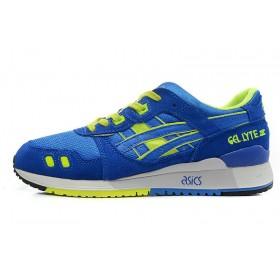 Asics Gel Lyte III Azul Verde женские кроссовки