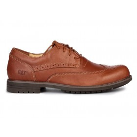 Caterpillar Oxford Borg Chestnut мужские туфли
