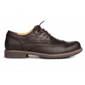 Caterpillar Oxford Borg Brown мужские туфли