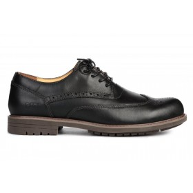 Caterpillar Oxford Borg Black мужские туфли