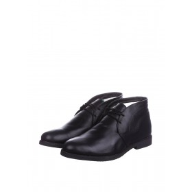 CG Desert Boots Winter Leather Black мужские ботинки