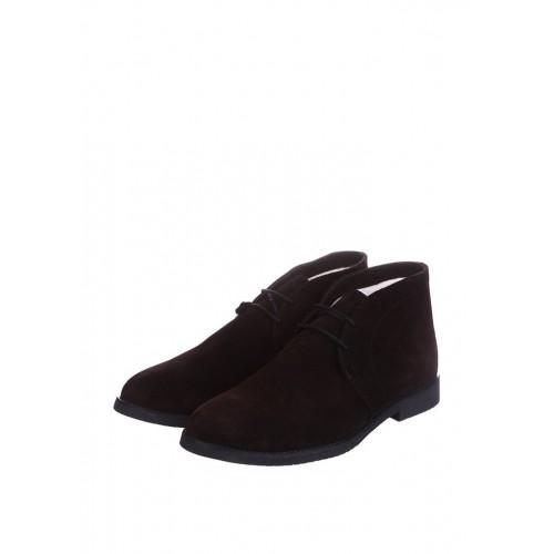 CG Desert Boots Winter Suede Chocolate мужские ботинки