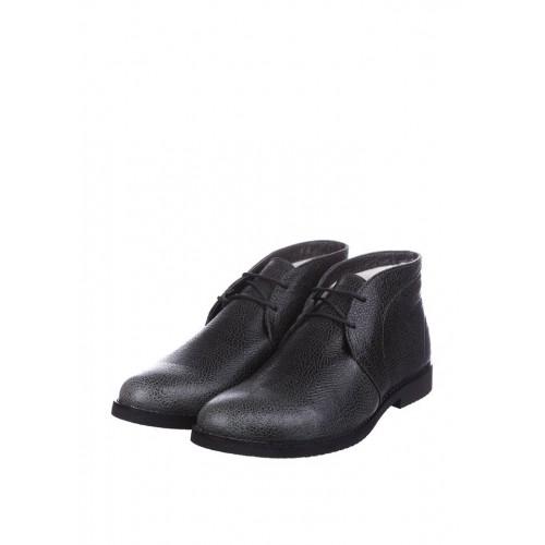 CG Desert Boots Winter Leather Khaki Grey мужские ботинки