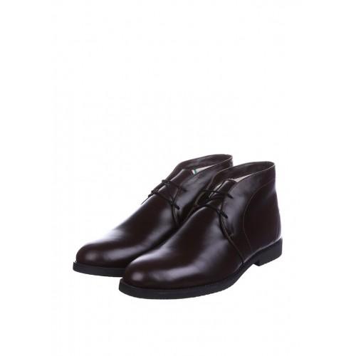 CG Desert Boots Winter Leather Chocolate мужские ботинки