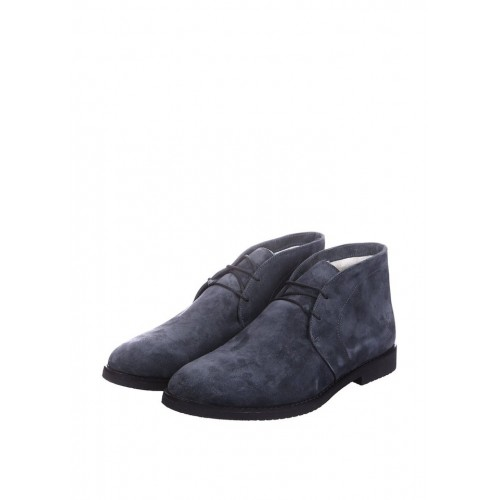 CG Desert Boots Winter Suede Grey мужские ботинки