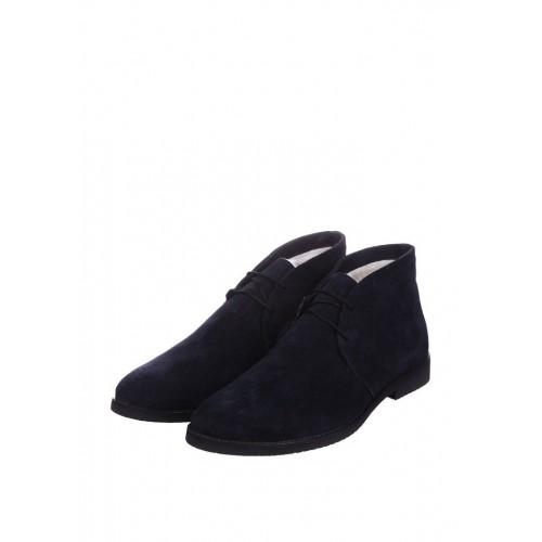 CG Desert Boots Winter Suede Navy Blue мужские ботинки