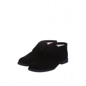 CG Desert Boots Winter Suede Black мужские ботинки