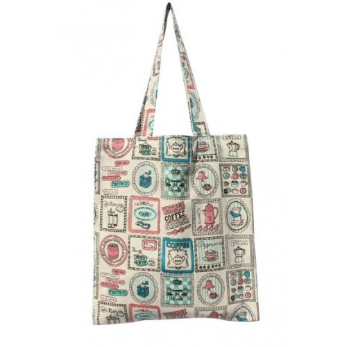 Текстильная сумка Cotton Tote Coffee