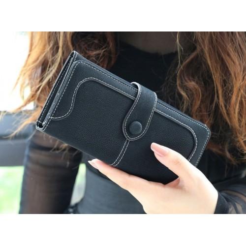 Кошелек Retro Wallet Black