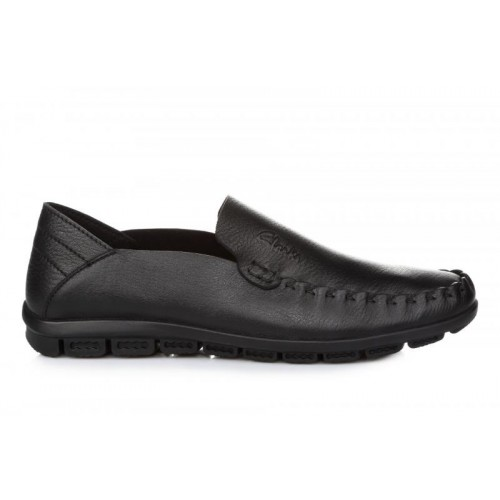 Clarks Casual Moccasin Black M мужские мокасины