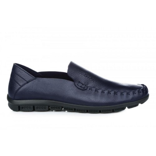 Clarks Casual Moccasin Blue M мужские мокасины