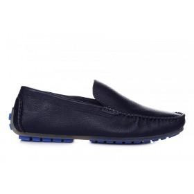 Clarks Fashion Moccasin Blue M мужские мокасины