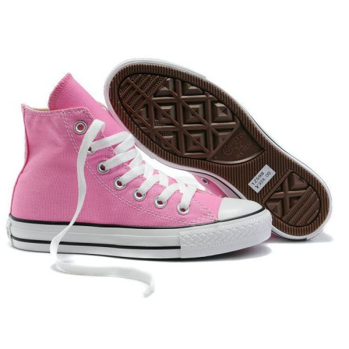 Converse Chuck Taylor All Star High Pink женские кеды