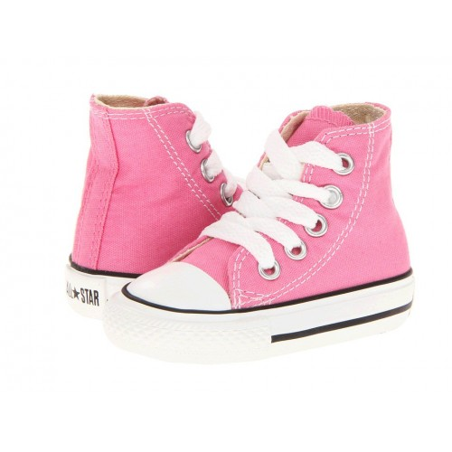 Converse Chuck Taylor All Star High Pink детские кеды