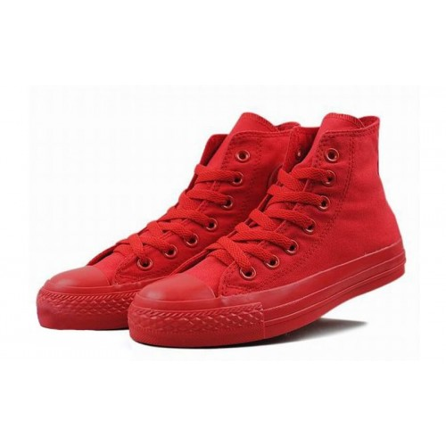 Converse Chuck Taylor All Star High Mono Red детские кеды