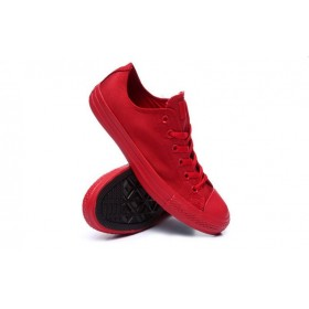 Converse Chuck Taylor All Star Low Mono Red