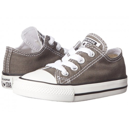Converse Chuck Taylor All Star Low Grey детские кеды