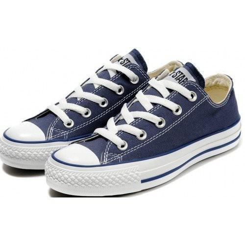 Converse Chuck Taylor All Star Low Blue White детские кеды
