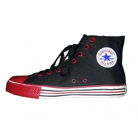 Converse All Star High Black Red