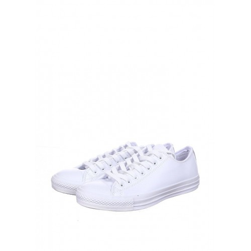 Converse Low White Leather мужские