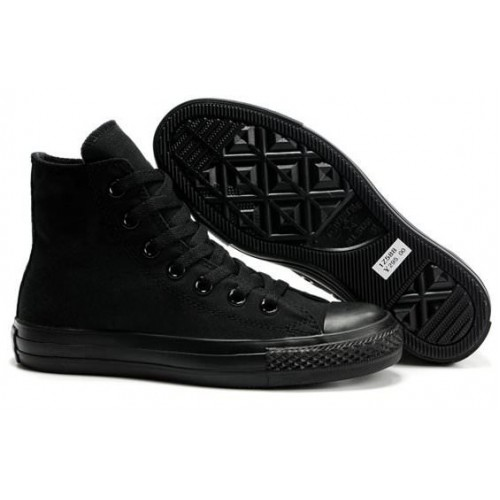 Converse Chuck Taylor All Star High Mono Black мужские кеды