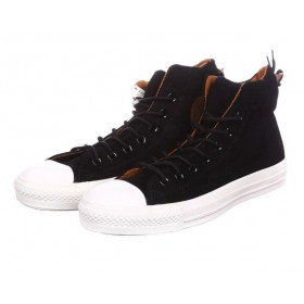 Converse High Black Suede
