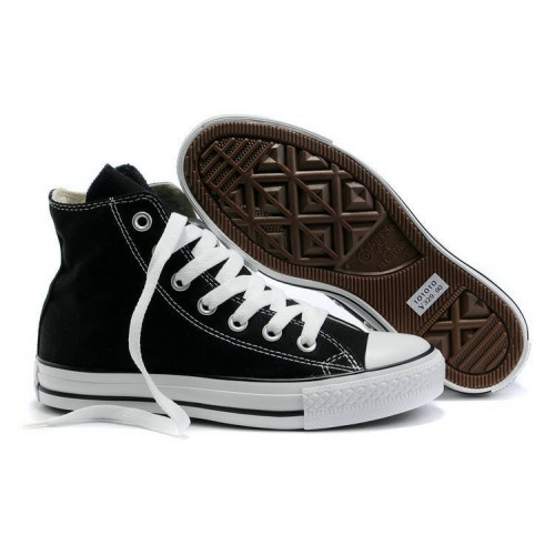 Converse Chuck Taylor All Star Black White мужские