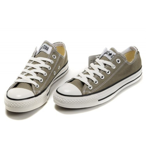 Converse Chuck Taylor All Star Low Grey мужские кеды