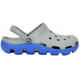 Crocs Duet Sport Clog Grey Blue мужские