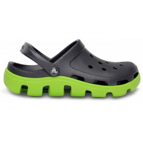 Crocs Duet Sport Clog Grey Green мужские