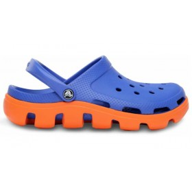 Crocs Duet Sport Clog Blue Orange мужские