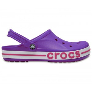 Crocs Bayaband Clogs Purple / Pink женские