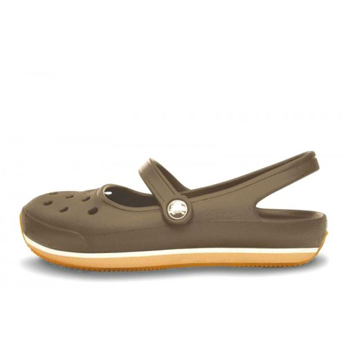 Crocs Beach Line Boat Shoe Pink Green женские