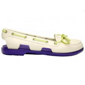 Crocs Beach Line Boat Shoe Milk Purple женские