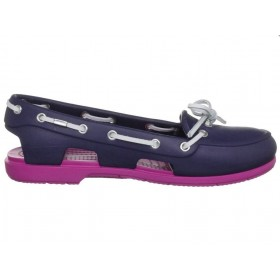 Crocs Beach Line Boat Shoe Purple Pink женские