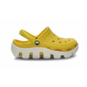 Crocs Classic Cayman Yellow White женские