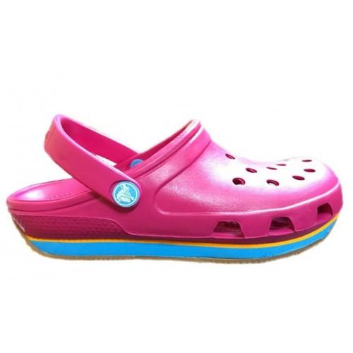 Crocs Duet Sport Clog New Pink 2 женские